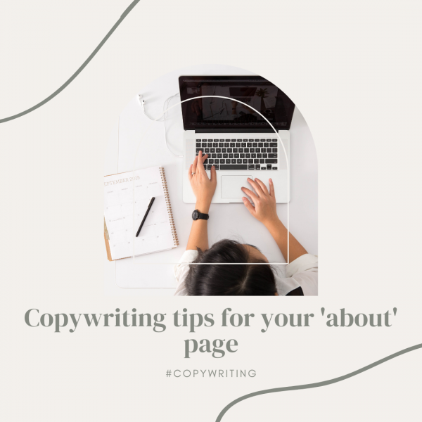 Copywriting tips for your 'about' page